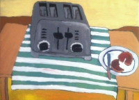 Painting Super toaster NYC