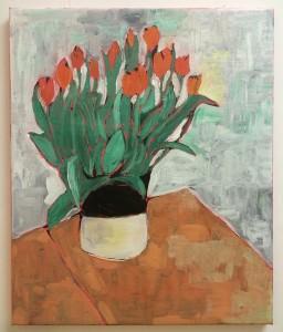 Tulips N°2, 50 x 60 cm. €700