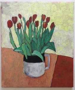 Tulips N°3, 60x70 cm. €750