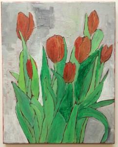 Tulips N°4, 50 x 40 cm. €450