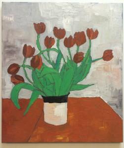 Tulips N°6, 60x70 cm. €750