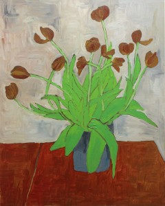 Tulips N°8, 60x77 cm. €800