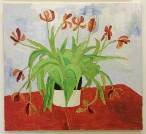 Tulips N°10, 65x60 cm. €750