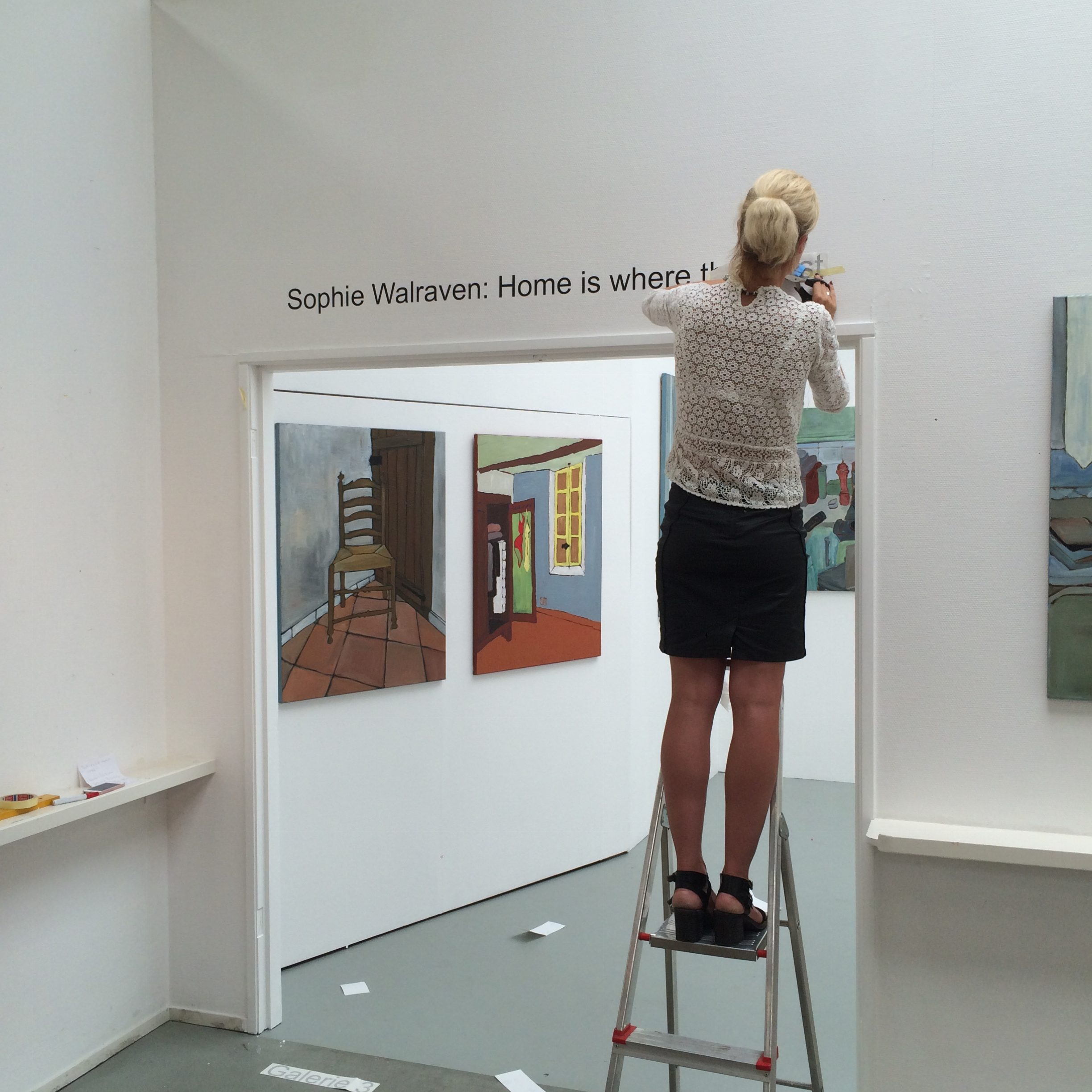Home is where the artist archieven   sophie walraven