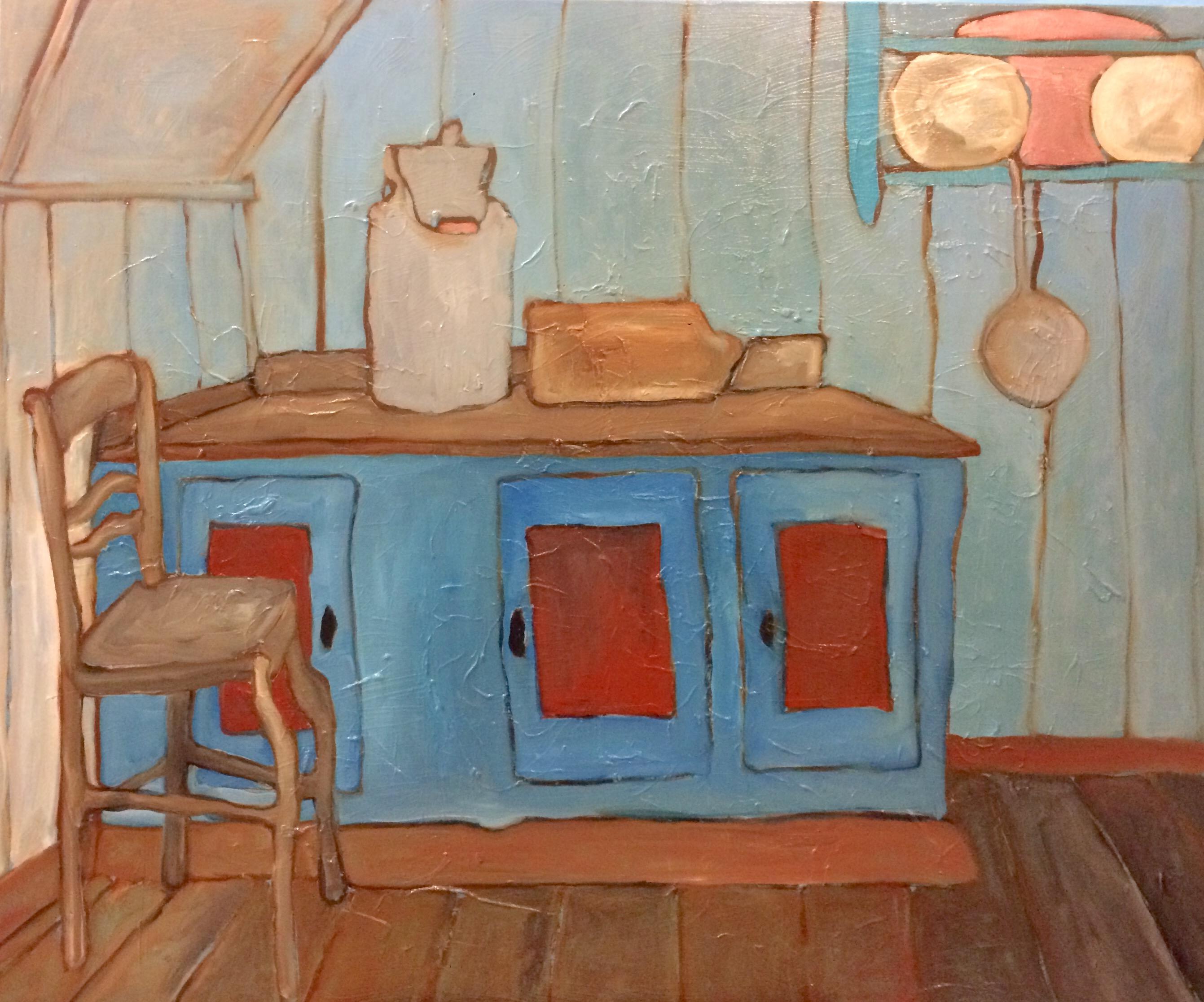 Oude keuken vitrine wordt kamerkast astra s homemade